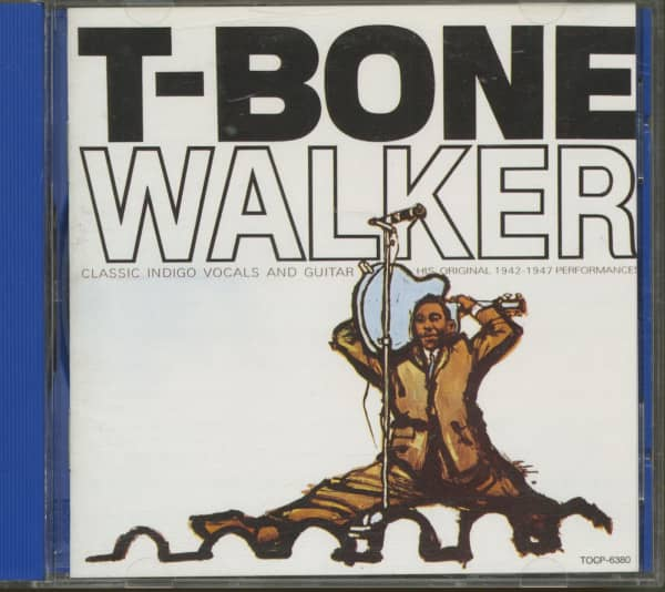 The Great Blues Vocals And Guitar Of T-Bone Walker (CD)