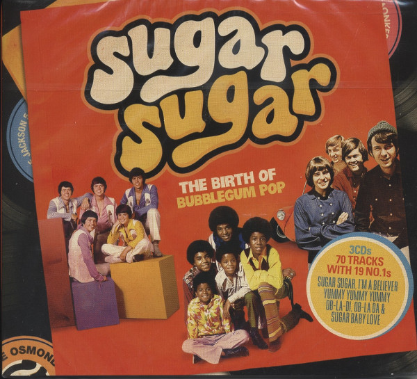 Sugar Sugar - Bubblegum Pop (3-CD)