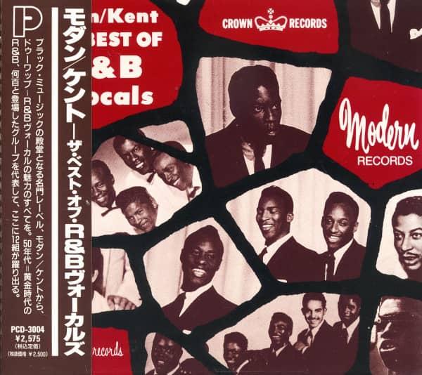 Modern-Kent - The Best Of R&B Vocals (CD, Japan)