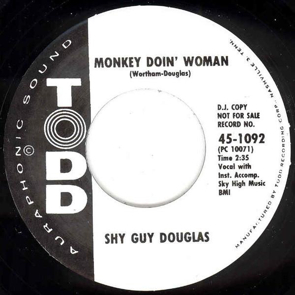 Monkey Doin' Woman b-w What's This I Hear 7inch, 45rpm