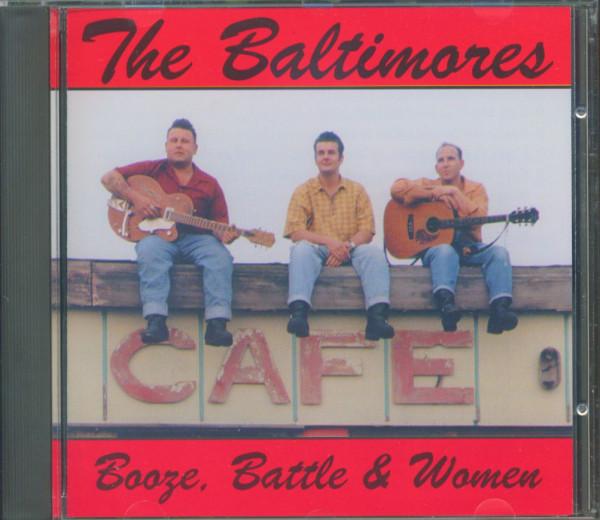 Booze, Battle & Women (CD)