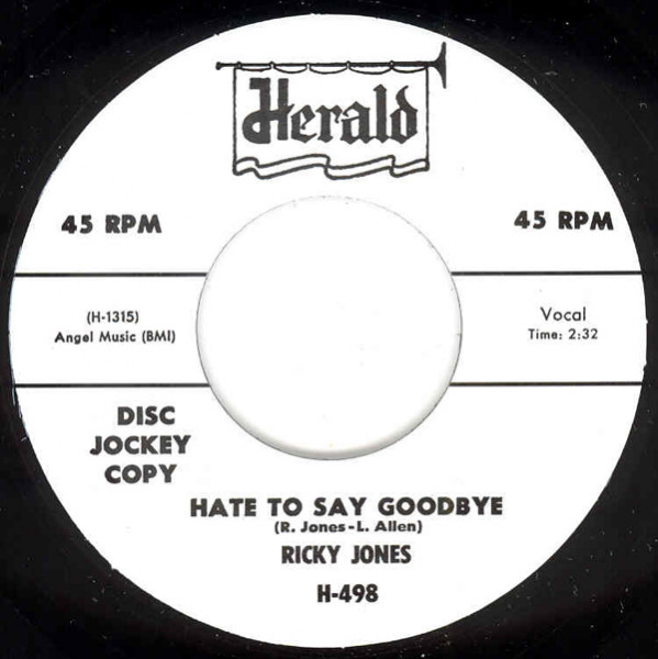 Hate To Say Goodbye - You Know It's True 7inch, 45rpm