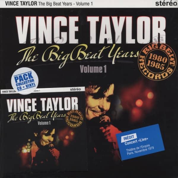 The Big Beat Years 1980-85 (25cmLP&CD) Ltd.