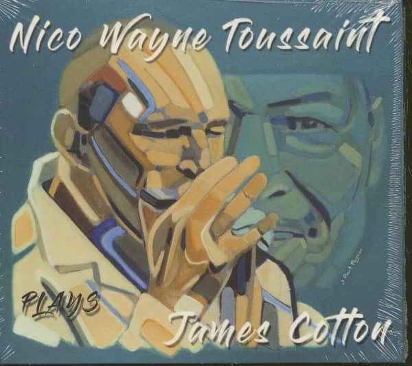 Nico Wayne Toussaint Plays James Cotton (CD)