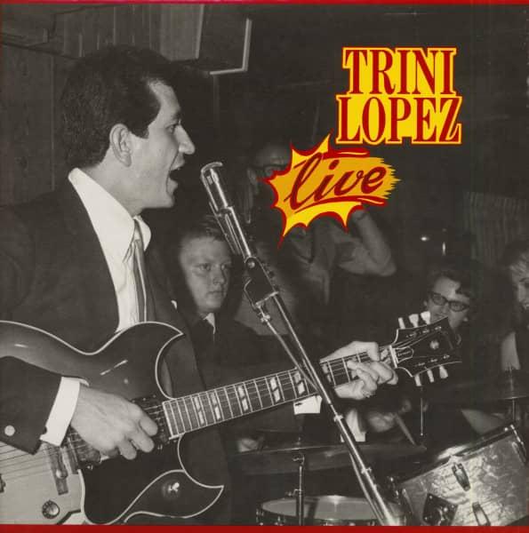 Trini Lopez - Live (LP)