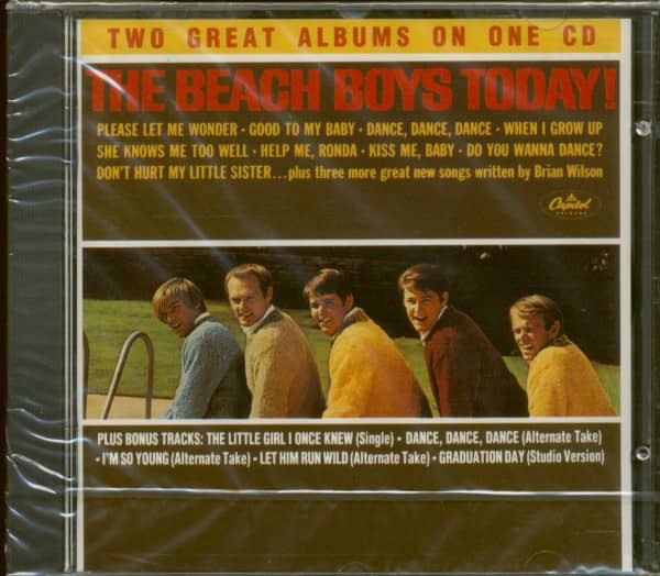 Today & Summer Days And Summer Nights (CD)