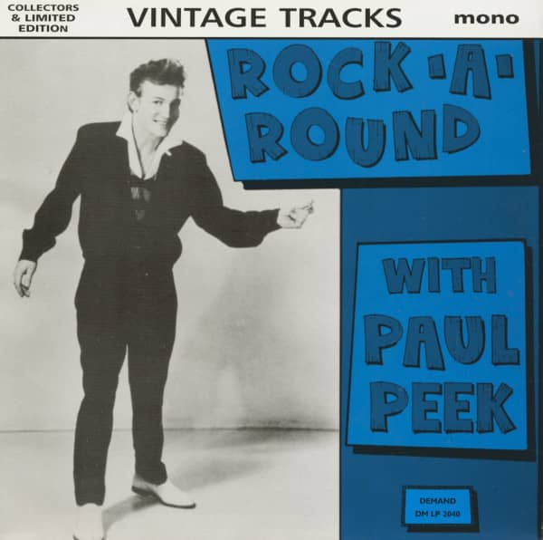 Rock-A-Round With Paul Peek - Vintage Tracks (LP)
