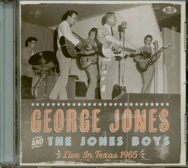 George Jones And The Jones Boys - Live In Texas 1965 (CD)