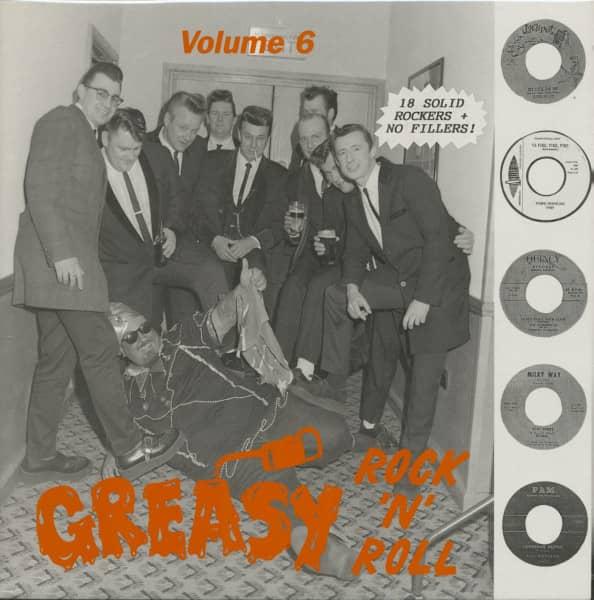 Greasy Rock & Roll, Vol.6 (LP)
