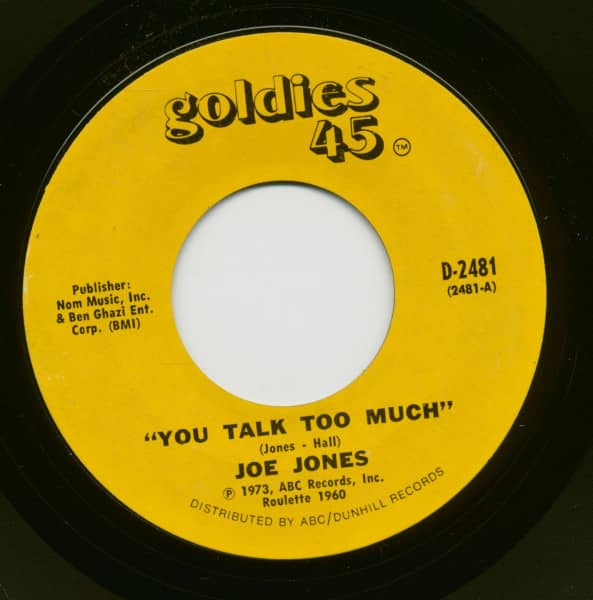 You Talk Too Much - I Love You Still (7inch, 45rpm)