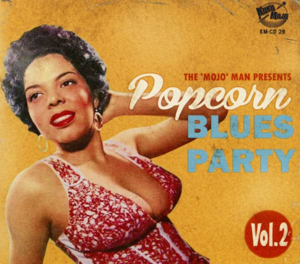 Popcorn Blues Party Vol.2 (CD)