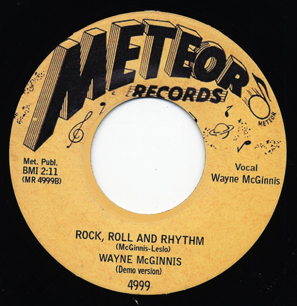 Rock, Roll And Rhythm - Lonesome Rhythm ..7inch, 45rpm