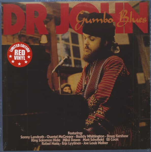 Gumbo Blues (LP, Red Vinyl, Ltd.)