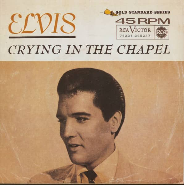 Crying In The Chapel - I Believe In The Man In The Sky (7inch, 45rpm, PS)
