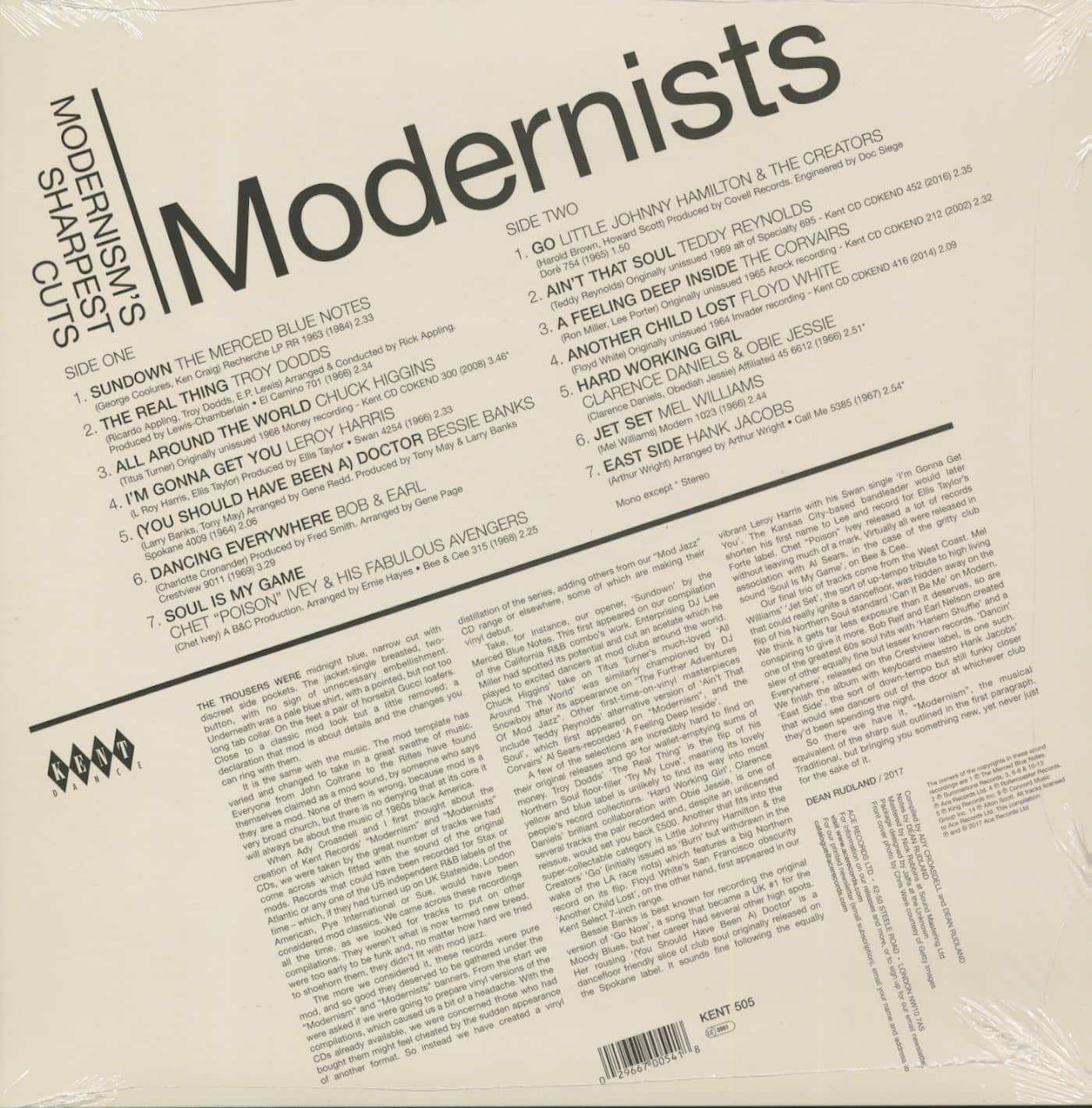 Various Masterpieces Of Modern Soul (LP)