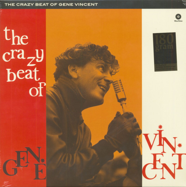 The Crazy Beat Of Gene Vincent (LP, 180g Vinyl, Ltd.)