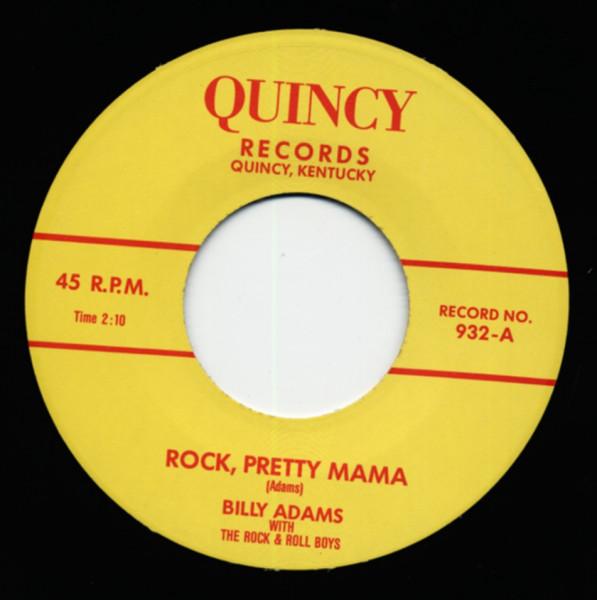 Rock Pretty Mama b-w You Gotta Have A Ducktail 7inch, 45rpm
