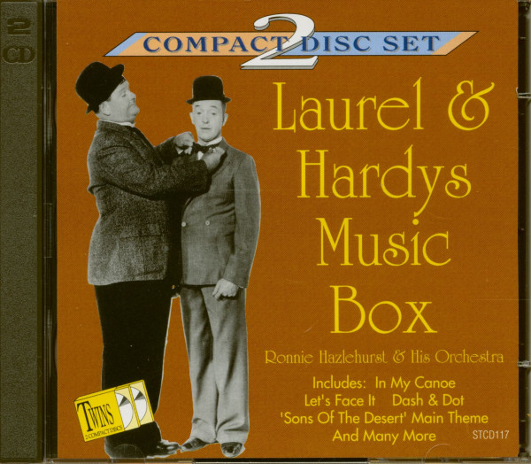 Laurel and Hardy's Music Box (2-CD)
