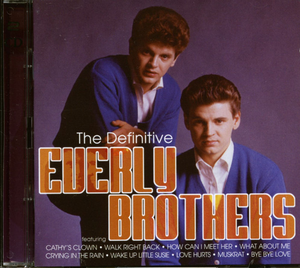 The Definitive Everly Brothers (2-CD)