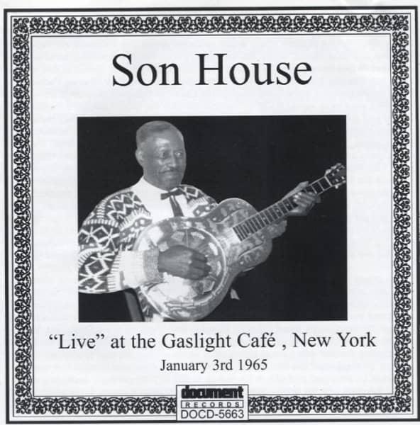Live At Gaslight Cafe, N.Y.C.