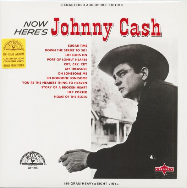 Now Here's Johnny Cash (LP, 180g Red Vinyl, Ltd.)