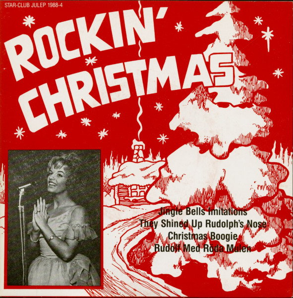 Rockin' Christmas Vol.4 (7inch EP, 45rpm, PS, Violet Vinyl)
