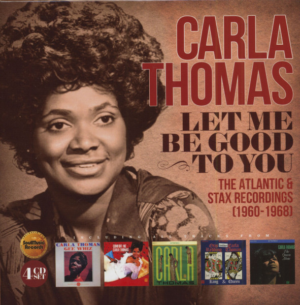 Let Me Be Good To You - The Atlantic & Stax Recordings 1960-1968 (4-CD)