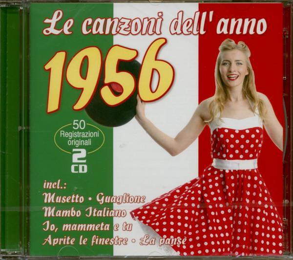 Le canzoni dell'anno 1956 (2-CD)