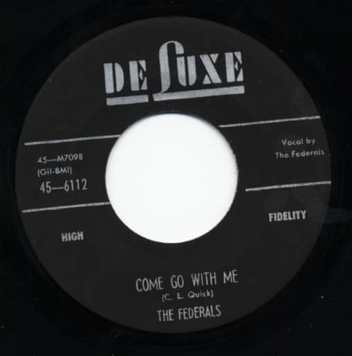 Come With Me b-w Cold Cash 7inch, 45rpm