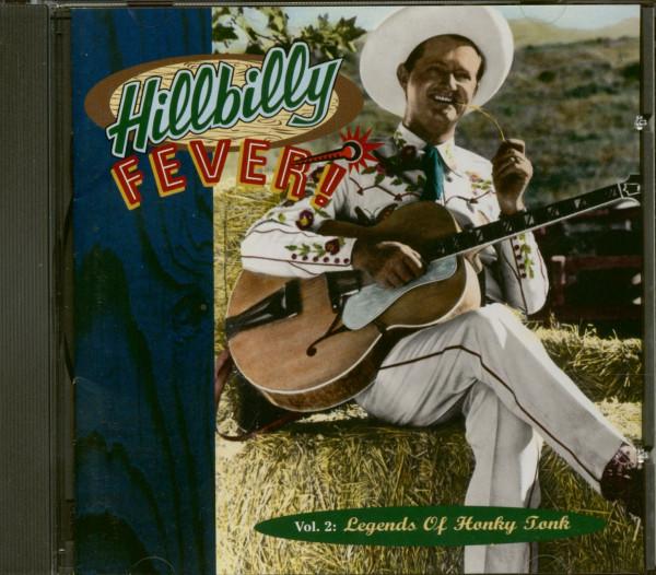 Hillbilly Fever! - Legends Of Honky Tonk Vol.2 (CD)