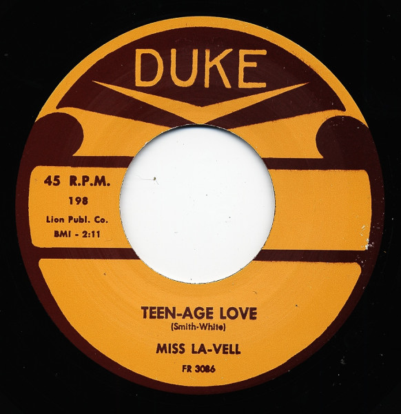 Teen-Age Love - Stop These Teardrops 7inch, 45rpm