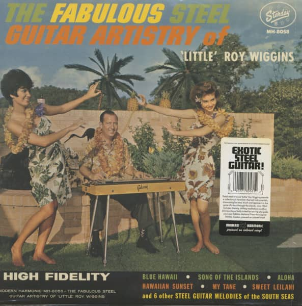 "The Fabulous Guitar Artistry Of ""Little"" Roy Wiggins (LP)"