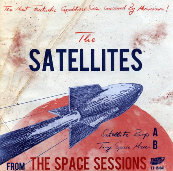 From The Space Sessions 7inch, 45rpm, PS