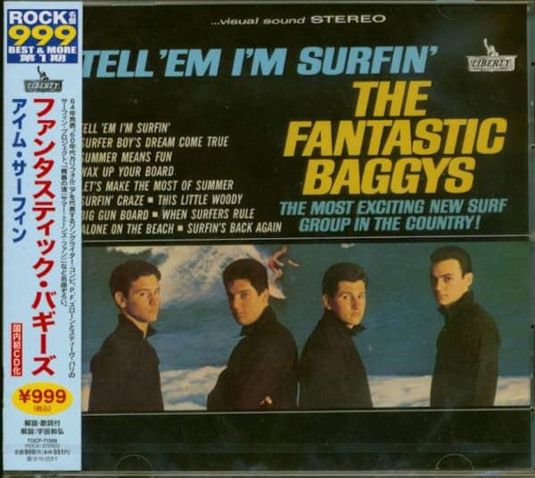 Tell'Em I'm Surfin' (CD, Japan)