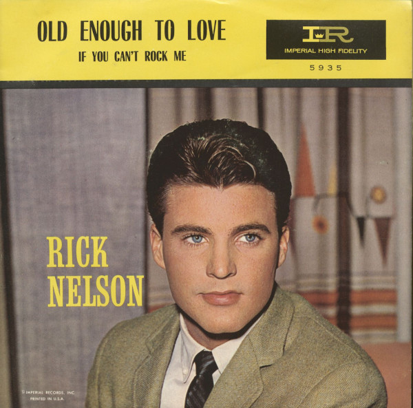 If You Can't Rock Me - Old Enough To Love (7inch, 45rpm, PS)
