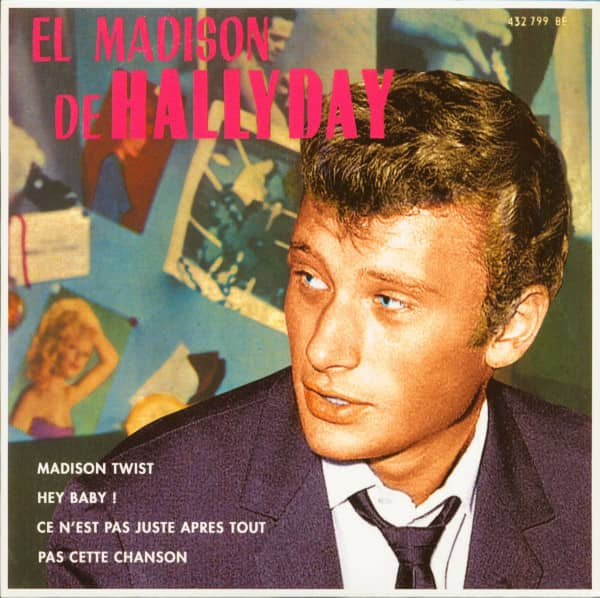 El Madison De Hallyday (7inch, EP, 45rpm, PS, SC, Pink Vinyl, Ltd.)