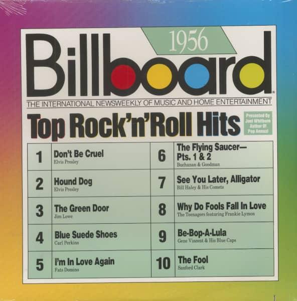 Billboard - Top Rock & Roll Hits - 1956 (LP, Cut-Out)
