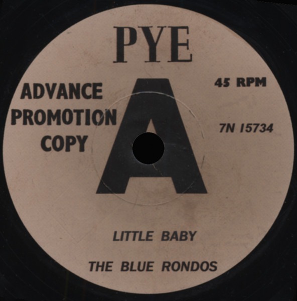 Little Baby b-w Baby I Go For You 7inch, 45rpm - small center
