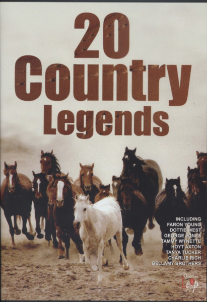 20 Country Legends (1980s clips)