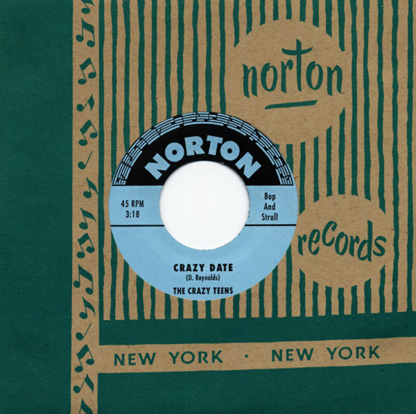 The Crazy Teens-Crazy Date - The Volk Brothers-The Walk (7inch, 45rpm)