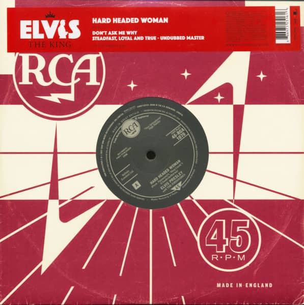 Elvis The King - 18 Of The Greatest Singles Ever Vol.8 (10inch EP, 45rpm, Ltd.)