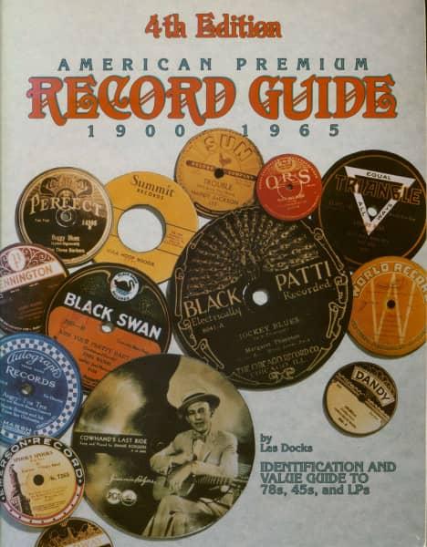 American Premium Record Guide 1900 - 1965