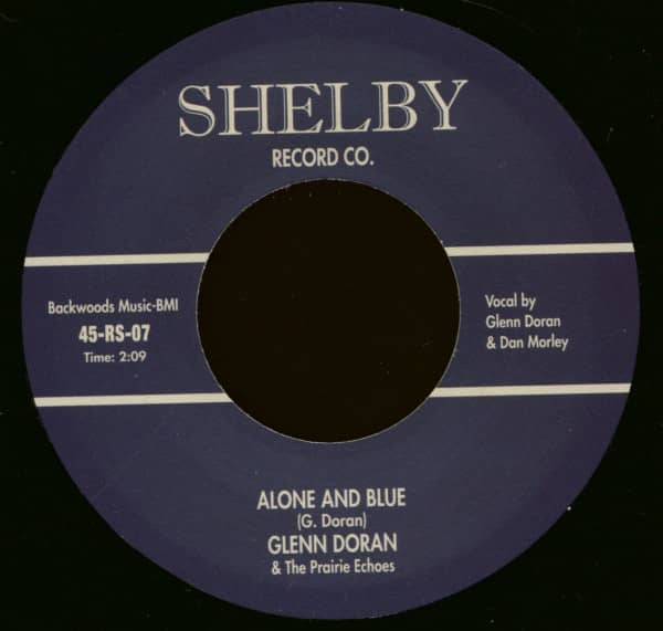 Alone And Blue - Walking The Floor (7inch, 45rpm)