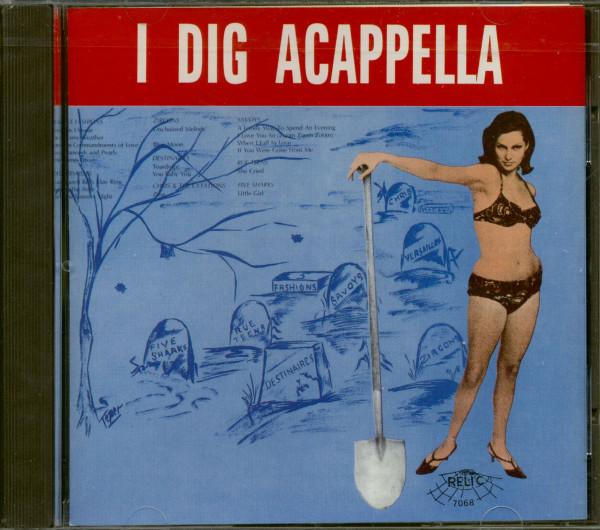 I Dig Acapella (CD)