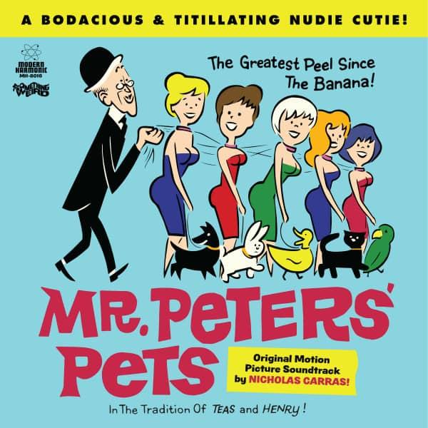 Mr. Peters' Pets - Motion Picture Soundtrack (LP & DVD)