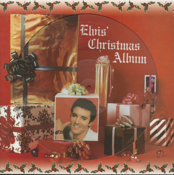 Elvis' Christmas Album (Picture LP, 180g Vinyl)
