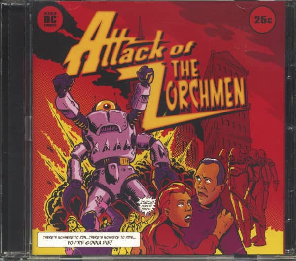 Attack Of The Zorchmen (CD)