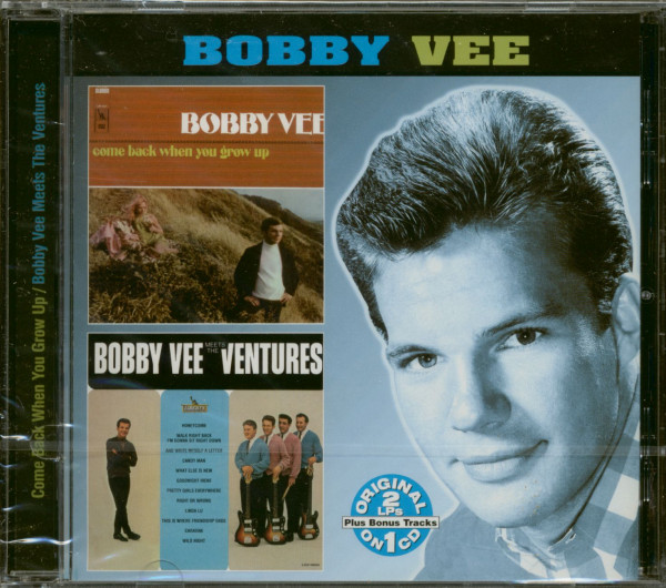 Come Back When You Grow Up - Bobby Vee Meets The Ventures (CD)