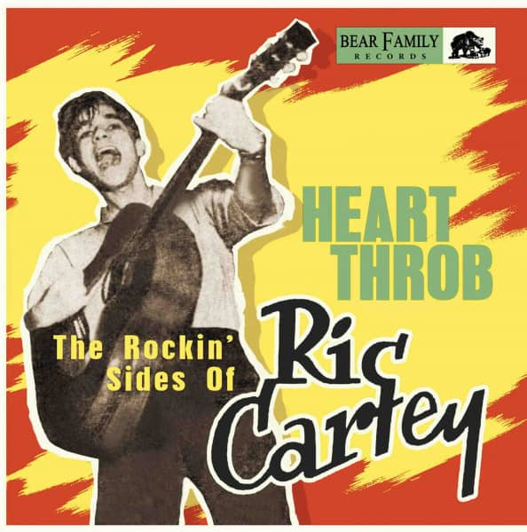 Heart Throb - The Rockin' Sides Of Ric Cartey (10inch Vinyl)