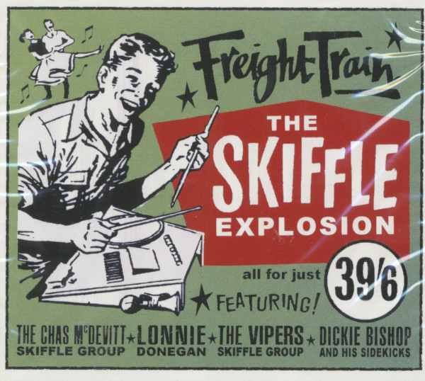 Freight Train - The Skiffle Explosion (2-CD)